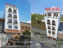 thiết kế khách sạn đẹp hiện đại