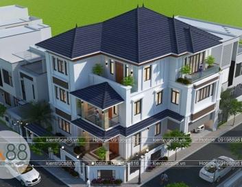 biệt thự 3 tầng hiện đại tại Phú Thọ