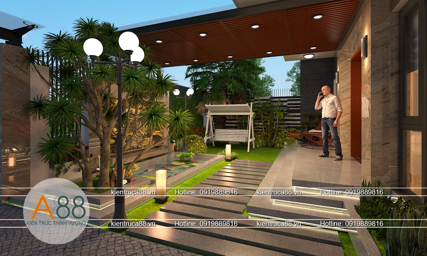 công ty thiết kế biệt thự hiện đại tại Bắc Giang