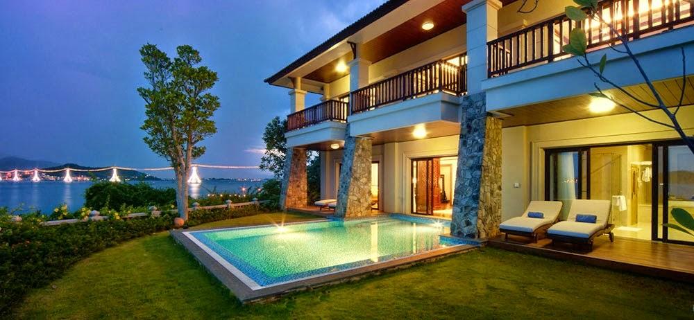 mẫu thiết kế biệt thự nghỉ dưỡng