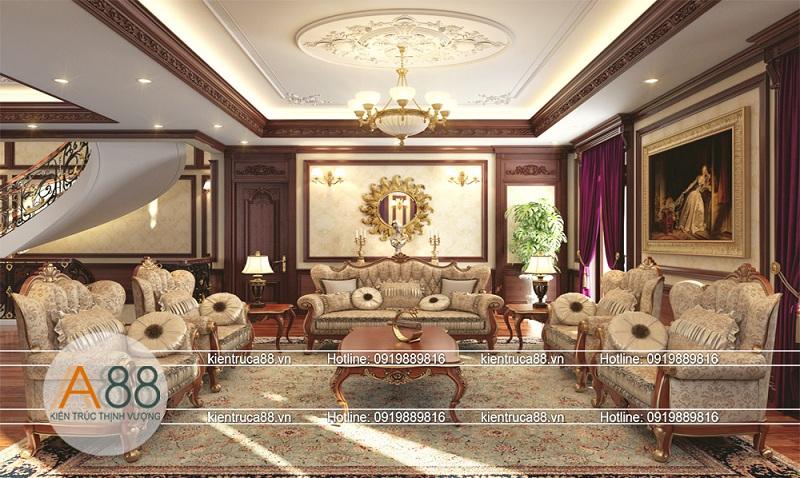Công ty thiết kế nội thất biệt thự Splendora đẹp tại Hà Nội