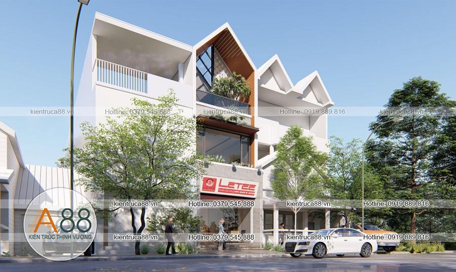 Mẫu thiết kế biệt thự hiện đại tại Phú Thọ