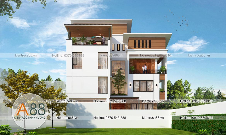 Thiết kế nhà biệt thự 90m2