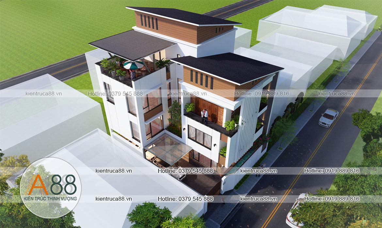 Thiết kế và thi công biệt thự nhà phố trọn gói