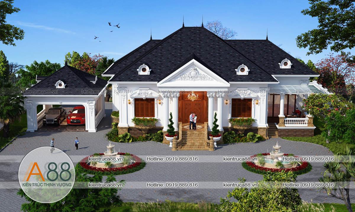thiết kế biệt thự nhà vườn tại nam định