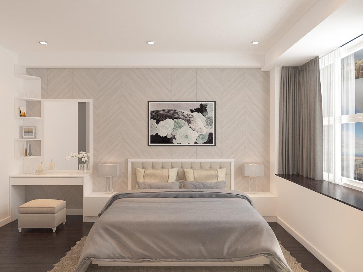 Thiết kế nội thất phòng ngủ chung cư 95m2