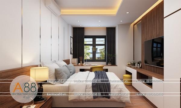 Thiết kế nội thất phòng ngủ gia đình đẹp