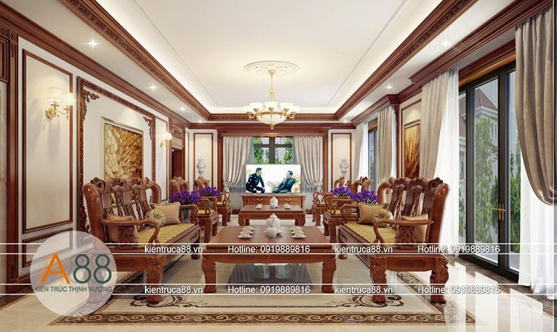 Thiết kế nội thất biệt thự Splendora đẹp