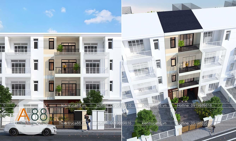 Thiết kế thi công biệt thự nhà phố trọn gói