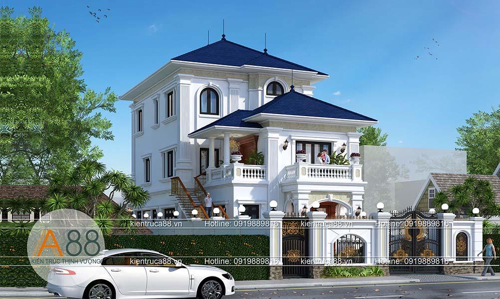Mẫu thiết kế biệt thự đẹp tại Vinh
