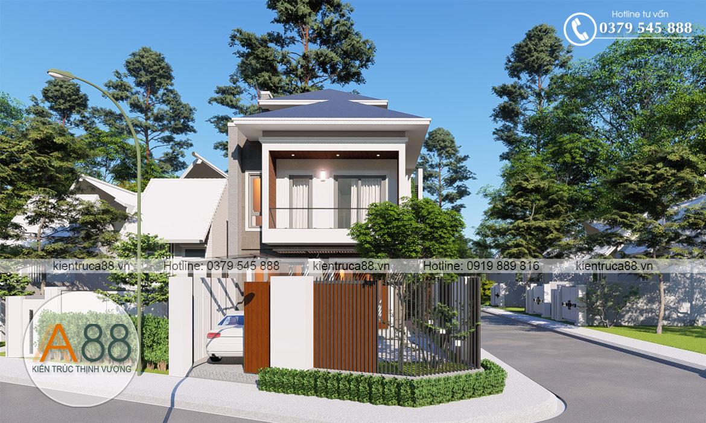 Mẫu thiết kế biệt thự hiện đại tại Lâm Thao Phú Thọ