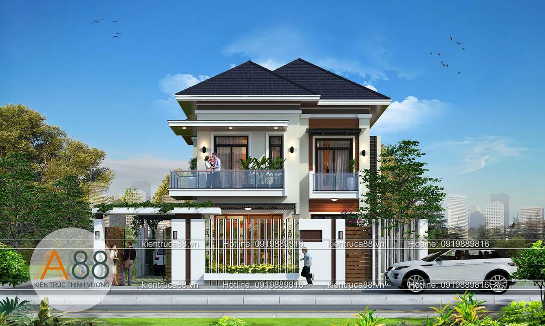 Những mẫu thiết kế biệt thự hiện đại đẹp