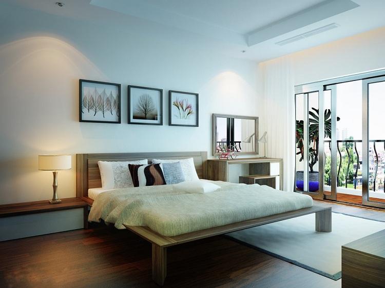 Thiết kế nội thất phòng ngủ 24m2