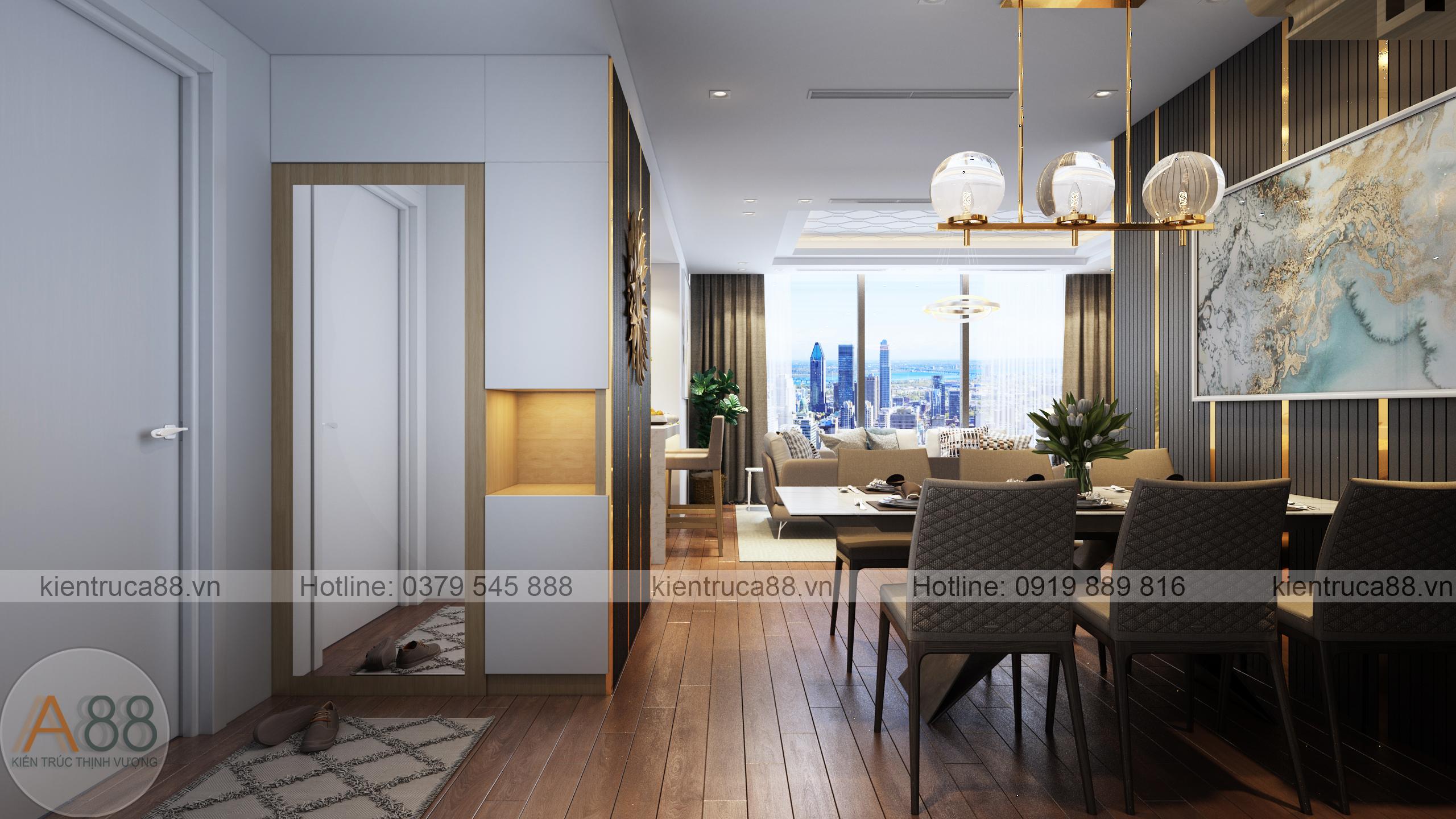 Đơn vị thiết kế nội thất chung cư sunshine uy tín