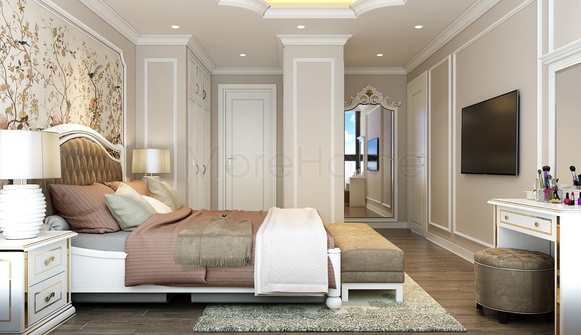 thiết kế nội thất phòng ngủ khách sạn 4 sao