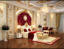 công ty thiết kế nội thất phòng ngủ tân cổ điển