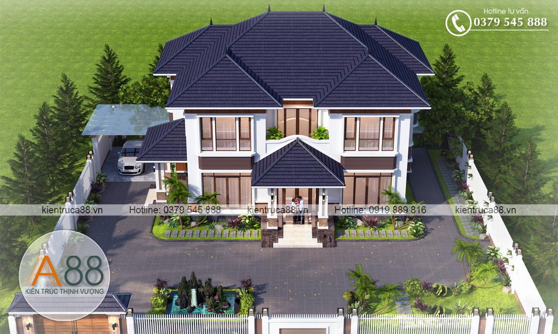 Thiết kế biệt thự hiện đại đẹp tại Lạng Sơn