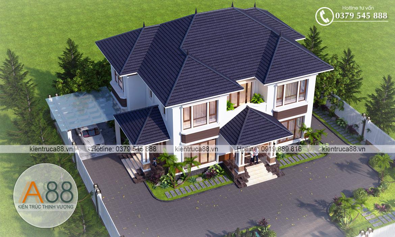 Đơn vị thiết kế biệt thự đẹp tại Lạng Sơn