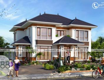 Thiết kế biệt thự hiện đại tại Lạng Sơn